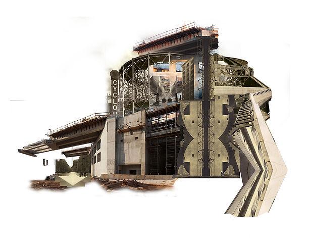 Bequest 3. Photomontage, still image