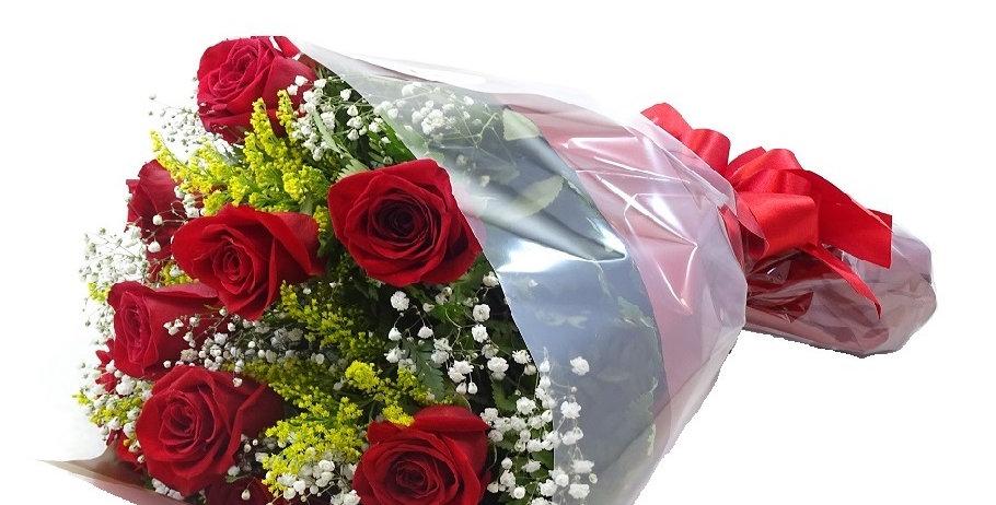 Buque de rosas ( 1 duzia)