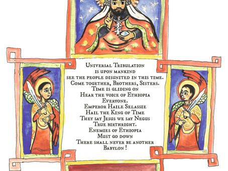 NEGUS CHRIST Histoires du mouvement rastafari parait aux Éditions Afromundi.
