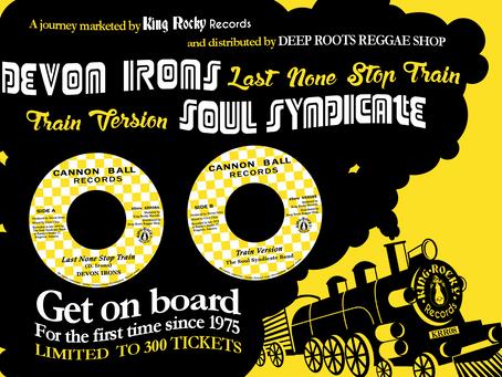 Nouvelle sortie KING ROCKY RECORDS : Devon Irons - Last Non Stop Train