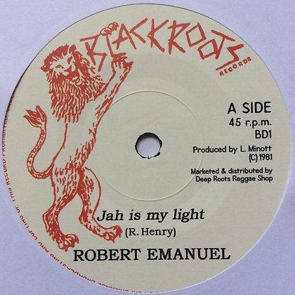 ROBERT EMANUEL - Jah Is My Light / Version