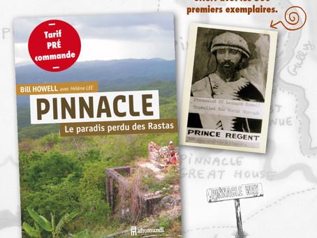 Un fac-similé ajouté aux 500 premiers exemplaires de PINNACLE le paradis perdu des Rastas.