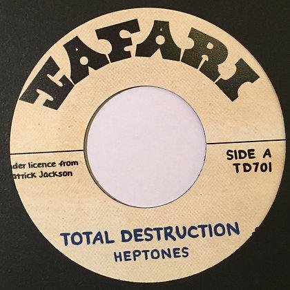 HEPTONES – Total Destruction / BABA LESLIE – Revolution