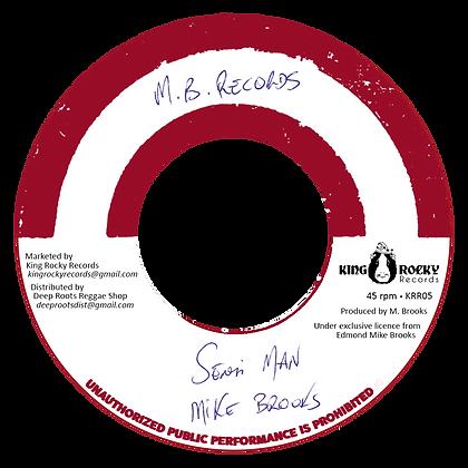MIKE BROOKS - Sensi man + Version