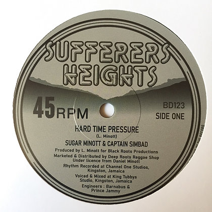 SUGAR MINOTT & CAPTAIN SINBAD hard time pressure