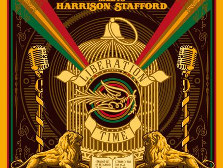 BRAIN DAMAGE meets HARRISON STAFFORD - Liberation Time à paraître le 20 octobre 2017.