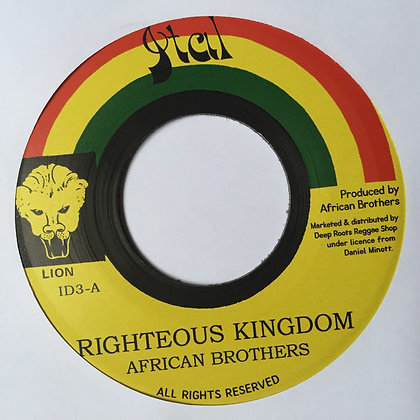 AFRICAN BROTHERS - Righteous Kingdom / Version
