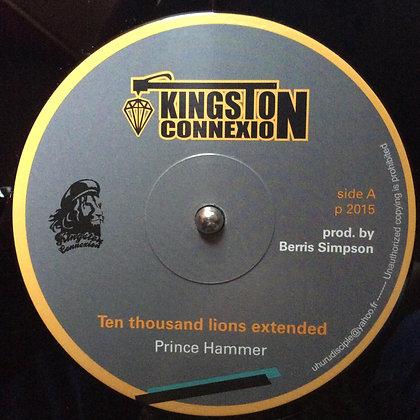 PRINCE HAMMER - Ten Thousand Lions