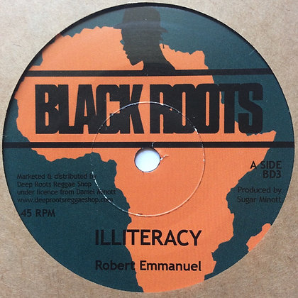 ROBERT EMMANUEL - Illiteracy / Progress Road Dub