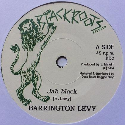 BARRINGTON LEVY - Jah Black / DARBAZ BAND - Dub version
