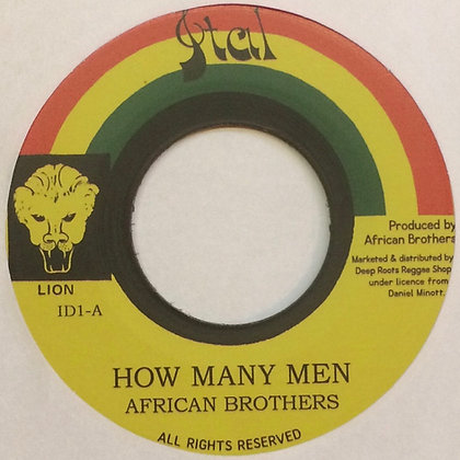 AFRICAN BROTHER - How Many Men / Version