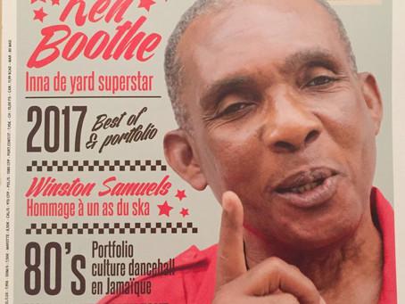 Reggae Vibes Magazine #58 nouvelle formule disponible en kiosque.