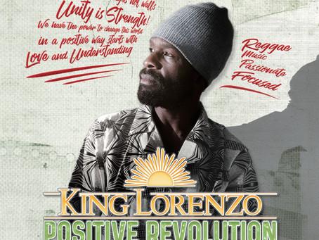 KING LORENZO fait laPositive Revolution chez Poorman Records