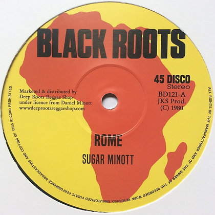 SUGAR MINOTT / DEVON RUSSELL ‎– Rome / Let Sleeping Dogs Lie