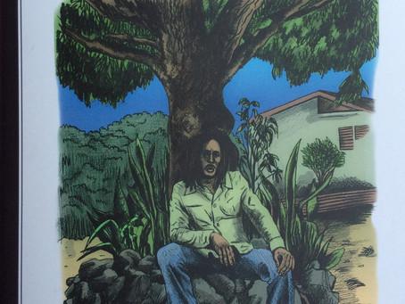 Le fanzineI-LEAFredessineBob Marley et nous fait joueravec son cinquièmenuméro.