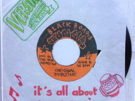 BLACKBOARD JUNGLE #3 original dubzine