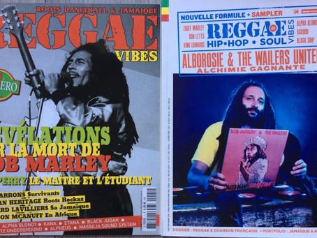 Reggae Vibes Magazine - Hip Hop/Soul #61 disponible en kiosque.