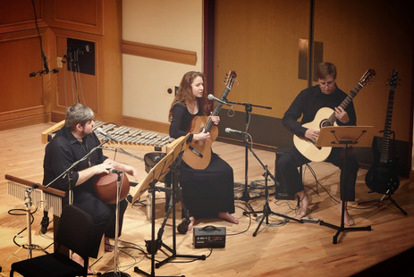 """Kyle Hughes, Sarah Perske, and Zac Larson perform """"Consecrate"""" from """"Ancient Dreams and Visions"""""""