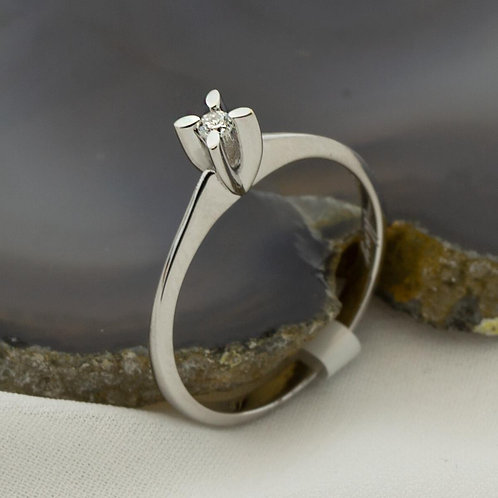 Tiny Engagement Ring