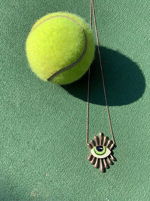 Leo Green Necklace