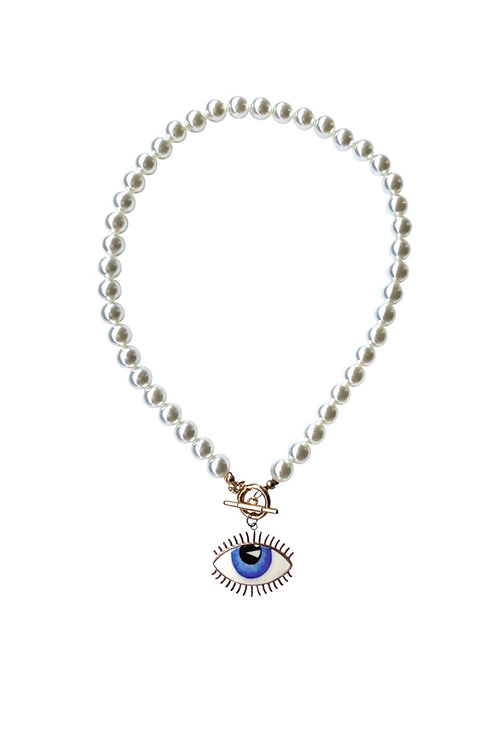 Siciliano Pearl Necklace