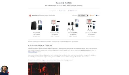 SEO Text für Webpage von Rentshop.ch