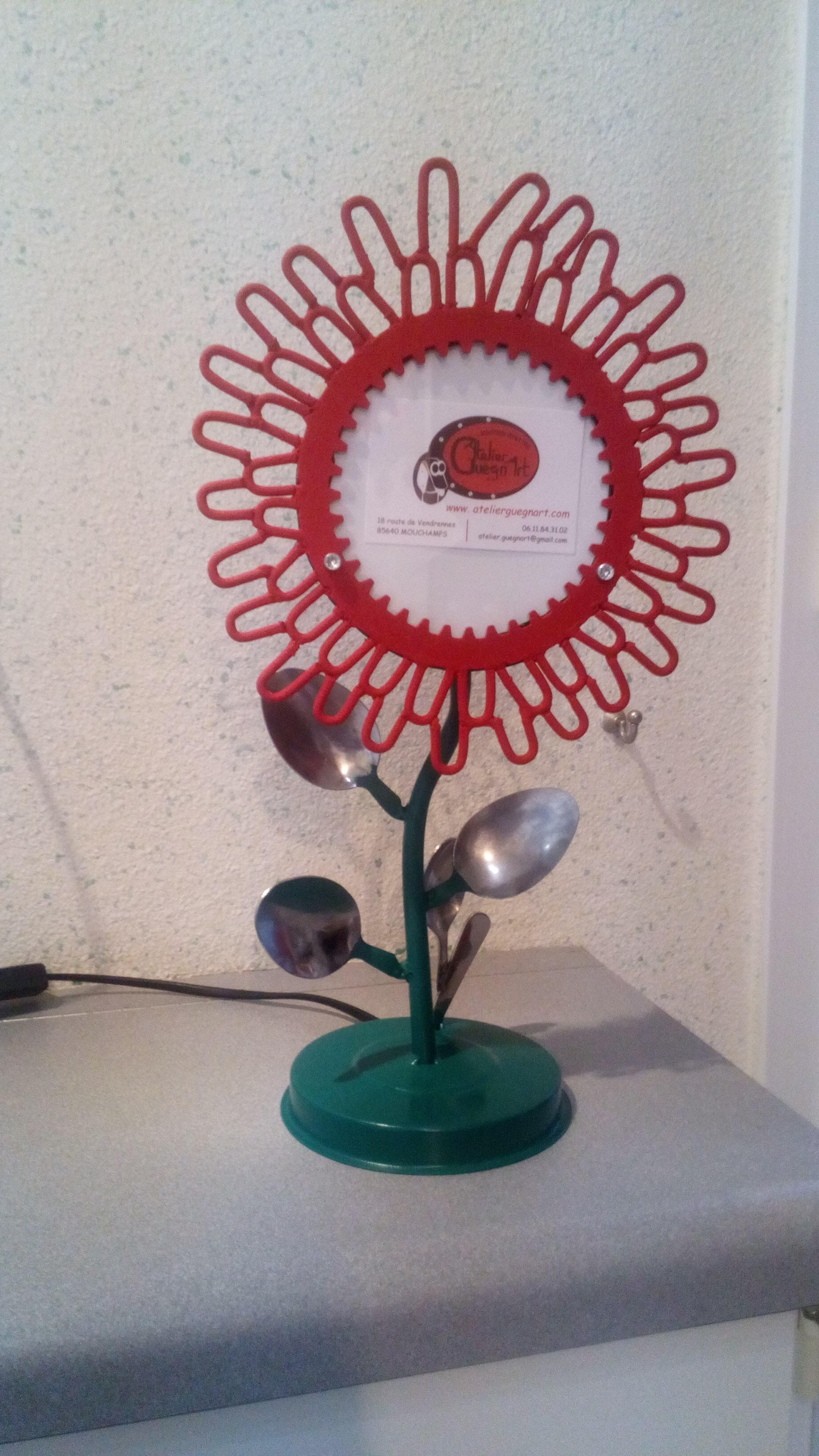 LAMPE fleur2.01