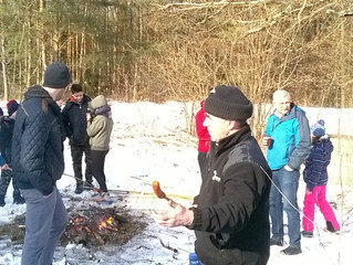 Parafialny kulig w ostatnią zimową niedzielę w roku.