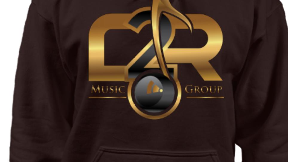 C2R Music Group Logo Long Sleeve HOODIE
