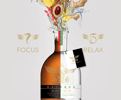 Why is Xachoh the best non-alcoholic spirit this summer, according to Luxury Experienced magazine?