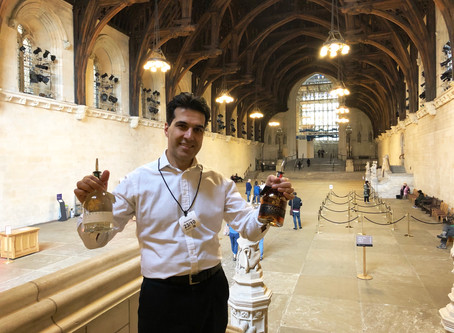 Xachoh at the Houses of Parliament