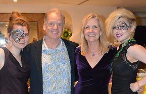 Survivors Rosie Barlow, Founders Chip Wi