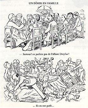 caricature_617_Un_dîner_en_famille_Caran