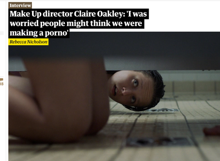 Interview with Claire Oakley in The Guardian