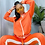Thumbnail: Off shoulder sweatsuit 2 pieces outfit
