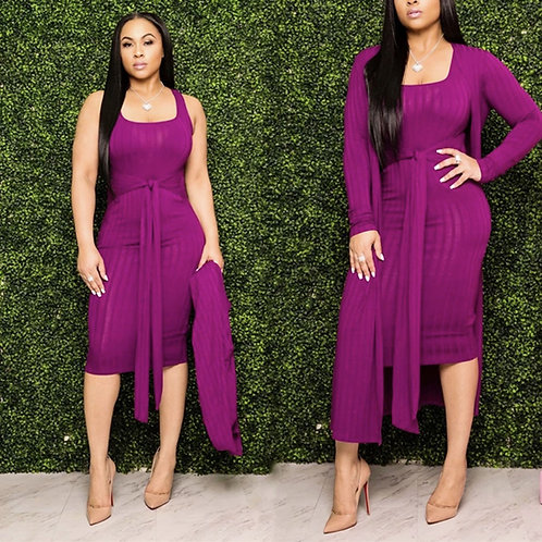 Women coat and Dress Suit
