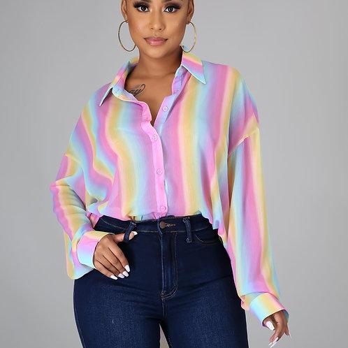 Cotton CandyLong sleeve Shirt