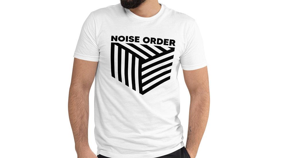 NOISE ORDER - BLACK PRINT Short Sleeve T-shirt
