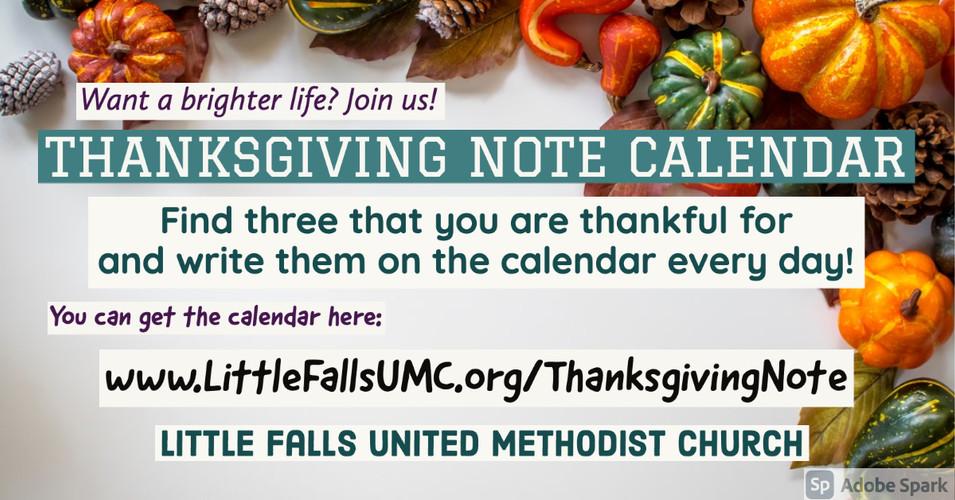 20201101 Thanksgiving note Calendar_f.jp