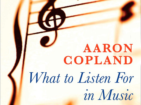 Listening Process: Small review about Aaron Copland
