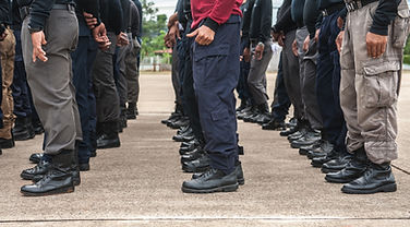 Police tactical training of police annua