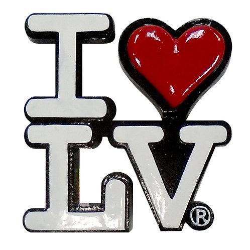 I Love LV Magnet 2