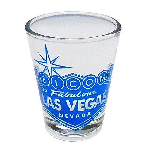 Las Vegas Welcome Sign Shot Glass