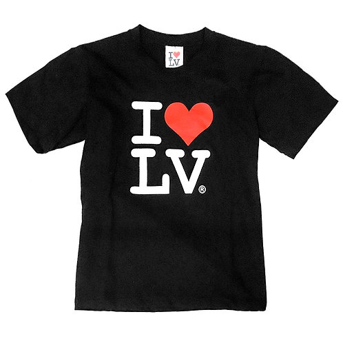 I Love LV Kids T Shirt