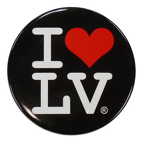 I Love LV Magnet