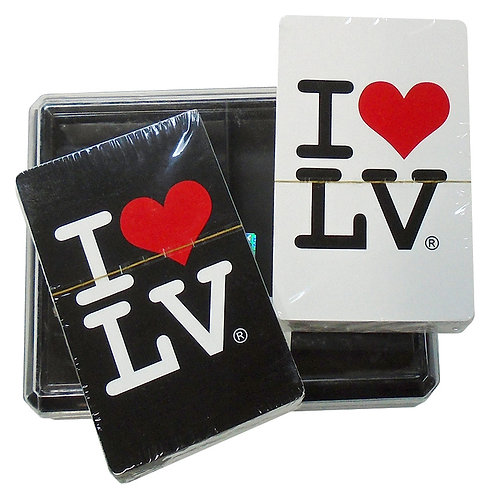 I Love LV Playing Card Set