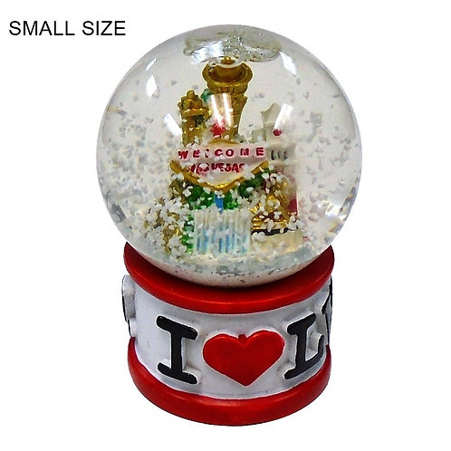 I Love LV Snow Globe