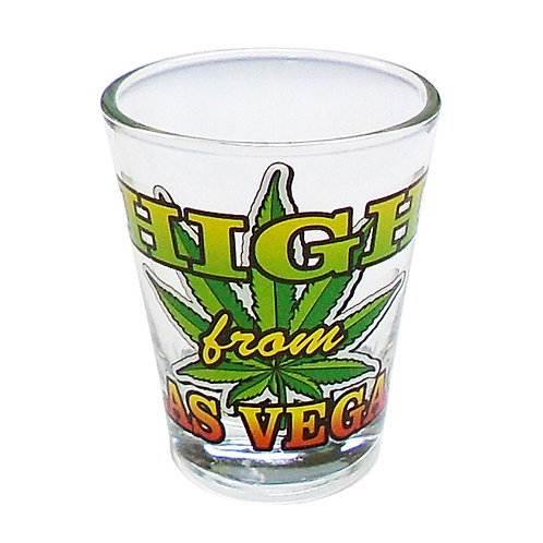 High from Las Vegas Shot Glass