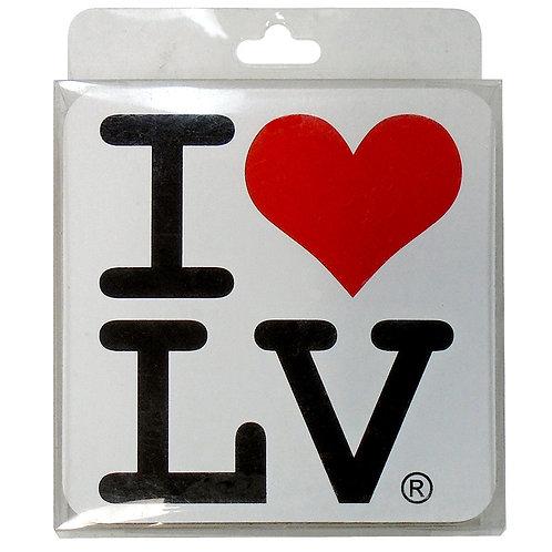 I Love LV Coaster (4)