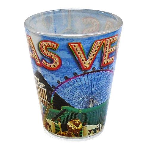 Las Vegas Strip Shot Glass